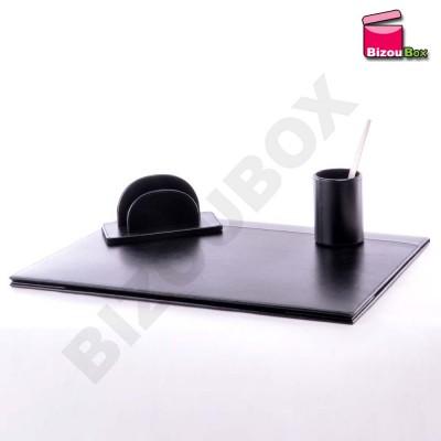 set de bureau sous main cuir davidt 39 s 499317. Black Bedroom Furniture Sets. Home Design Ideas