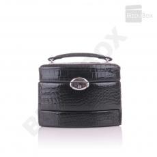 Boîte à bijoux CrocoShiny - Davidt's 344959 Noir