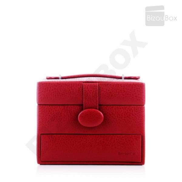 Boîte à bijoux Davidt's Essentials 355210 Rouge