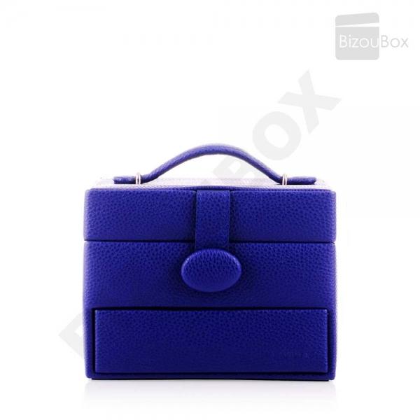 Boîte à bijoux Davidt's Essentials 355210 Bleu roi