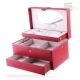 Boîte à bijoux Davidt's Essentials 355230 Rouge