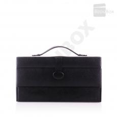 Boîte à bijoux Davidt's Essentials 355230 Noir