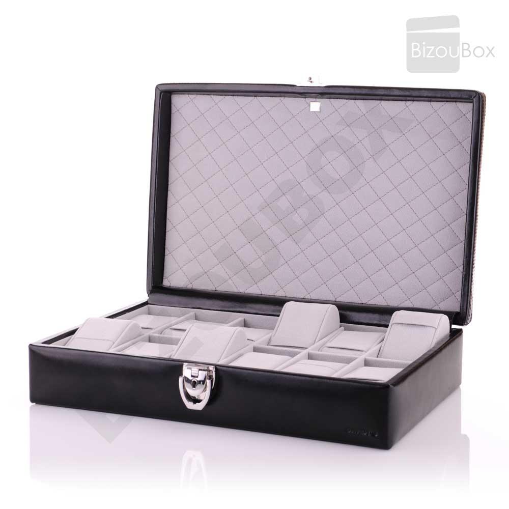 boite montre coffret cuir davidt 39 s. Black Bedroom Furniture Sets. Home Design Ideas