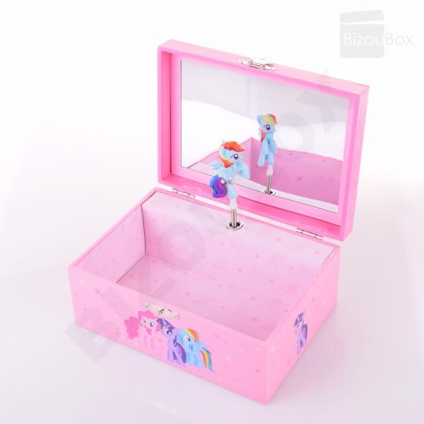 Boîte à musique My Little Pony© -S54234  TROUSSELIER