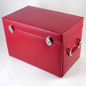 Grande boîte à bijoux cuir Davidt's