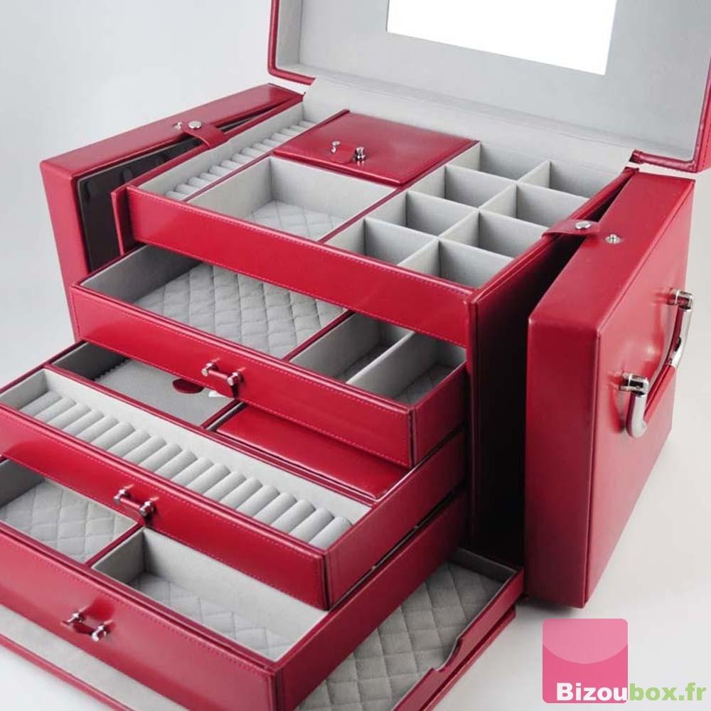 grande bo te bijoux cuir davidt 39 s. Black Bedroom Furniture Sets. Home Design Ideas