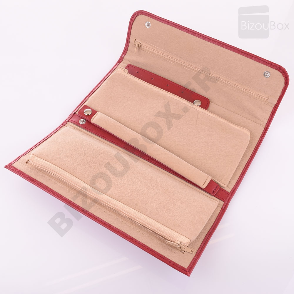 Trousse à bijoux Rouge 9fk6b2
