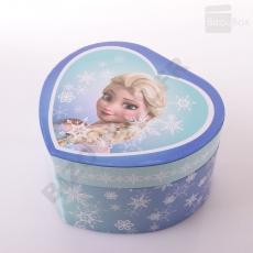 Boîte à musique Coeur musical Elsa La reine des neiges S30430 Trousselier