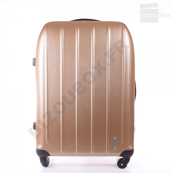 Elite Valise 100% Pure Polycarbonate 21027 Golden
