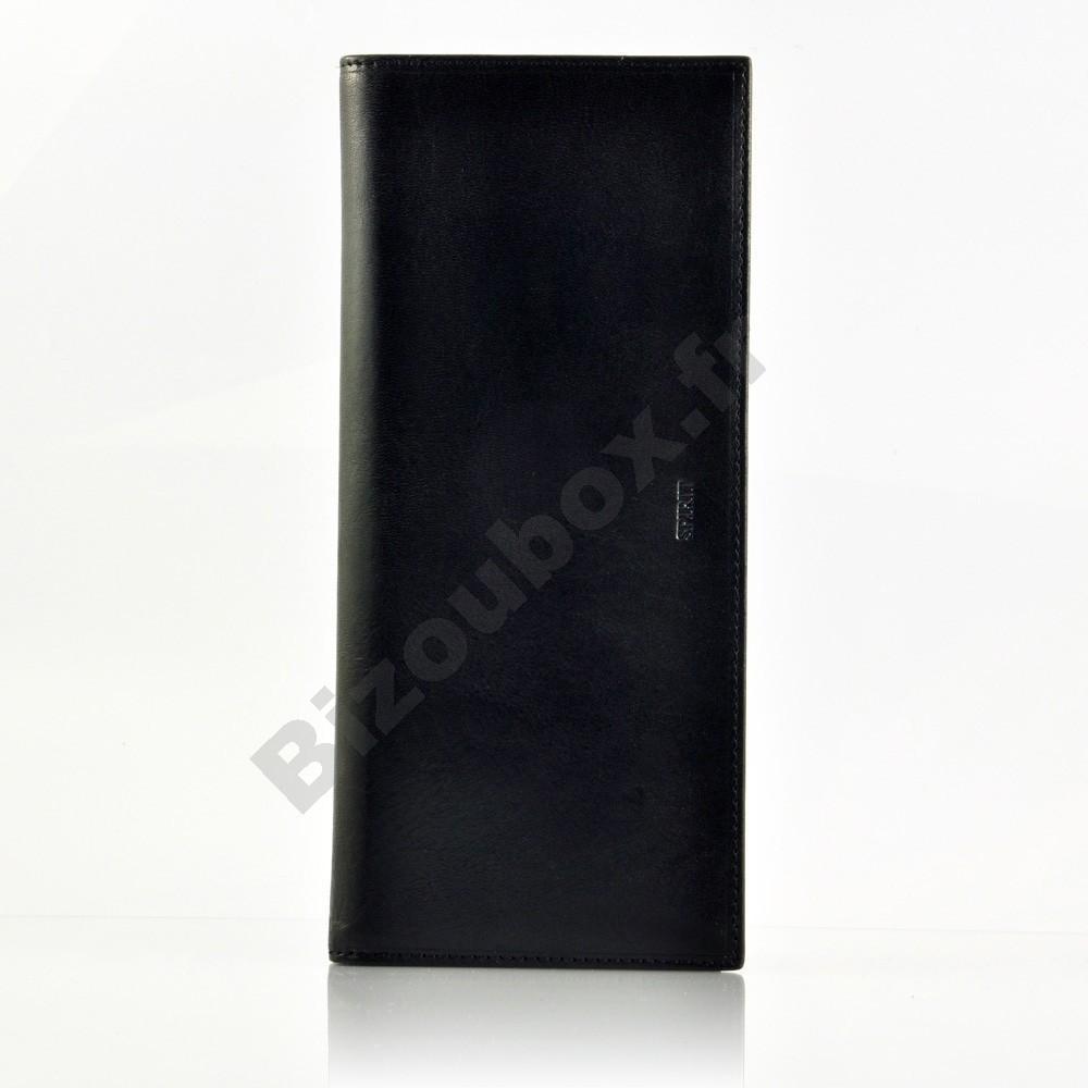 meilleure qualité pour sortie de gros la réputation d'abord Porte chéquier cuir Spirit 6502 noir- Petite Maroquinerie ...