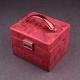 """Boîte à bijoux 338210 Davidt's """"Poussière d'étoile"""" Rouge"""