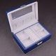 "Boîte à bijoux 337207 Davidt's ""Magic Knot"" Bleu"