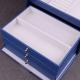 "Boîte à bijoux 337205 Davidt's ""Magic Knot"" Bleu"