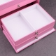 "Boîte à bijoux 337205 Davidt's ""Magic Knot"" Rose"