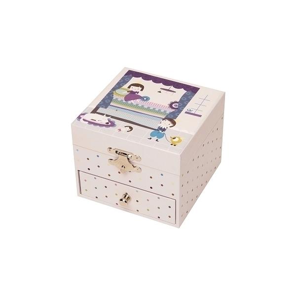 Coffret Musique Cube NINON Prince et Princesse Trousselier S20599
