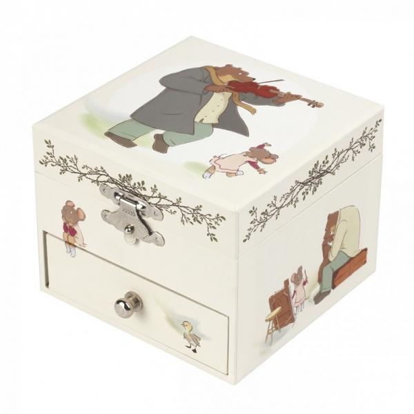 Coffret Musique Cube Ernest & Celestine Trousselier S20016