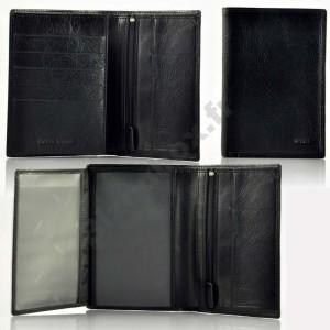 Portefeuille cuir Spirit 6805 noir