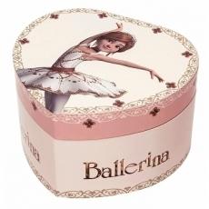 Boite à Musique Cœur Phosphorescent Ballerina S30111