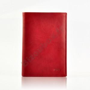 Portefeuille cuir Spirit 6805 rouge