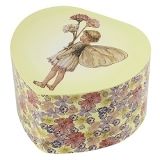 Grand Cœur Musical Fée Paquerettes - Flower Fairies