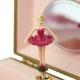 Coffret Musical Fleurs - Jaune - Figurine Ballerine