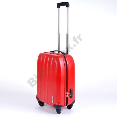 Valise trolley elite cabine 55cm rouge
