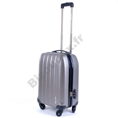 Valise trolley elite cabine 55cm grise