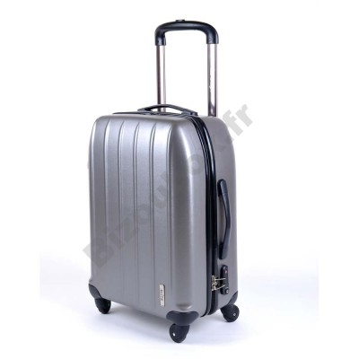 Valise trolley elite cabine 65cm gris
