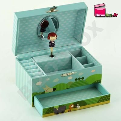 Boîte à bijoux musicale Trousselier Ninon & Nioui S60607