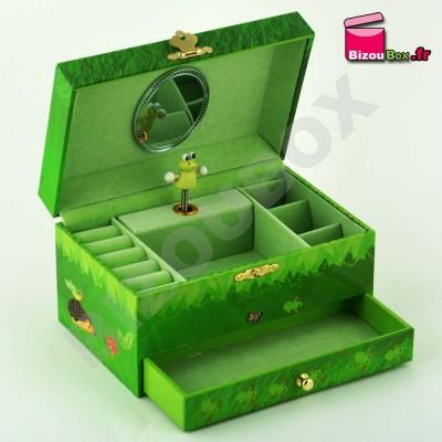 """Boîte à musique Trousselier """"Nature Verte"""" S60610"""