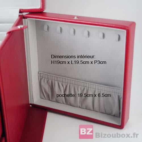 Boîte à bijoux davidt's 378083 Tiroir